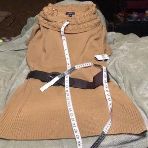 Short sleeved tunic sweater type dress -XL NWT